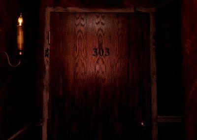 Room 303 Door